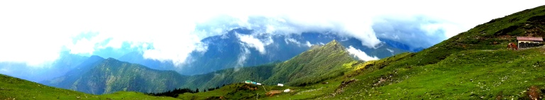 Panorama View of Chopta