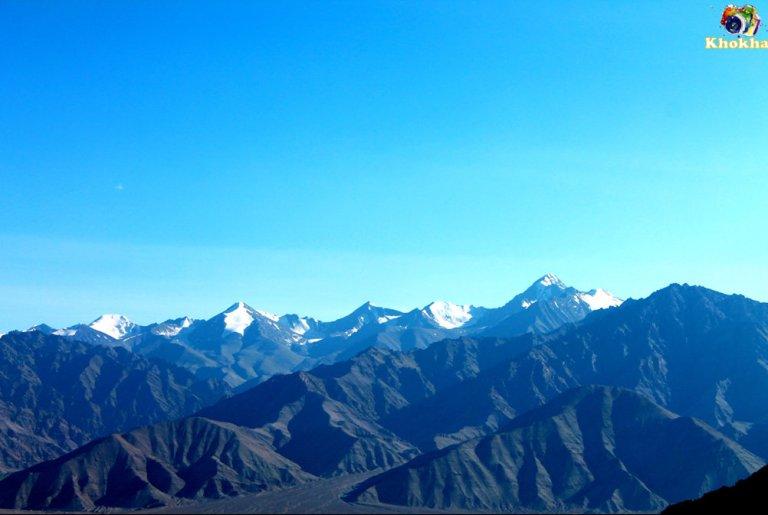 Mix of Himalayan range and Karakoram mountain range