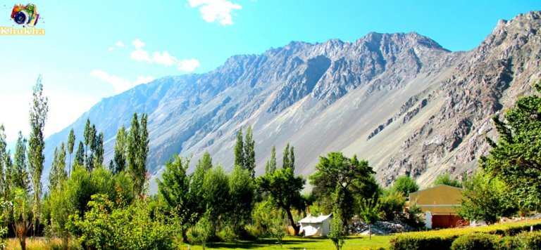 VIEW FROM HOTEL KARMA INN, NUBRA VALLEY