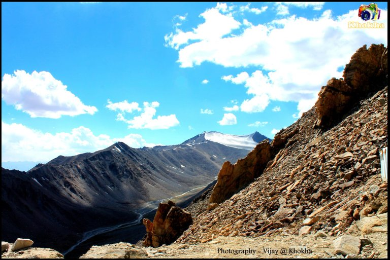 Near KhardungLa Peak - Amazing Scene of Himalaya